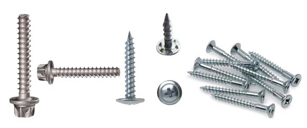 aluminum machine screws